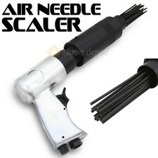 Air Needle Scaler Pneumatic Pistol Grip Air Remover Removal Rust Deburring Scale