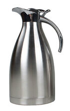 Stainless Steel Vacuum Insulated Thermos Thermal Carafe with Press Button Top