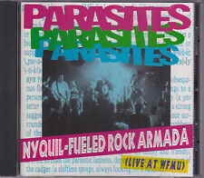 Parasites - Nyquil-Fueled Rock Armada - CD (Wingnut WR-1374 U.S.A.)