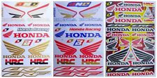 New Racing Decal Sticker 1 Sheets Honda HRC CRF Motocross Motorcycle Bike F001