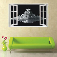 Star Wars Spacecraft Destroyer Wall Sticker Kids Room Vinyl Art Decals Decor LZ