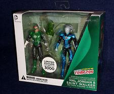 Green Lantern HAL JORDAN & SAINT WALKER Action Figure DC Collectibles NYCC 2013