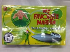 Pegasus 9012 My Favorite Martian Martin & Spaceship Scale Plastic Model Kit