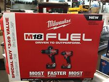 New! Milwaukee 2897-22CX M18 FUEL Brushless 18V Combo Kit!