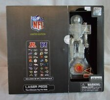 NEW Laser Pegs 12-in-1 National Football League Set Laser Pegs