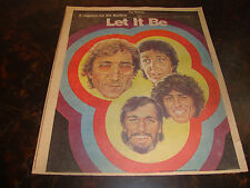 Requiem For The Beatles--Let It Be--Phila. Bulletin Suppliment---12 Pages---1980