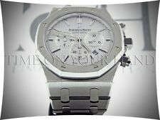 AP AUDEMARS PIGUET ROYAL OAK WHITE DIAL 41M 26320ST.OO.1220ST.02 STAINLESS STEEL