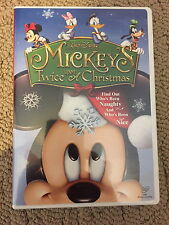 mickeys twice upon a christmas dvd walt disney donald duck pluto mouse daisy