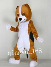 hound dog brown Adult Mascot Costume high quality For Festival PARTY