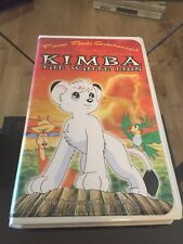 Movie. The New Adventures of Kimba The White Lion - Successor of Legend VHS