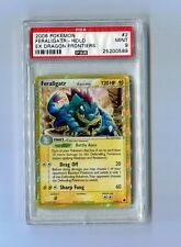 Pokemon PSA 9 Mint FERALIGATR 2/101 RARE HOLO - Ex Dragon Frontiers