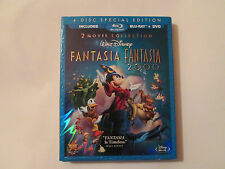 Fantasia Anthology (Blu-ray/DVD, 2010, 4-Disc Set) With Slipcover OOP