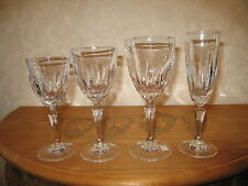 ROGASKA CRYSTAL *NEW* FLAMINIA Set 4 Verres Glasses