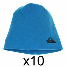 Beanie Hat Winter Warm Cap Unisex Ski Quicksilver One Size Synthetic Blue x10
