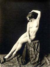 A4 Vintage 1920's Art Deco Pretty Nude Girls ..Victorian/Edwardian Beauties 205