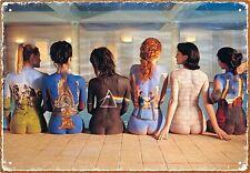 Cartel Metálico - Espaldas Con Portadas de Discos De Pink Floyd
