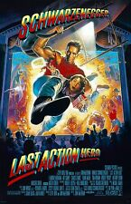 "Last Action Hero movie poster 11"" x 17"" - Arnold Schwarzenegger"