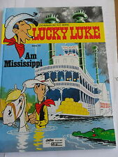 1x Comic - Lucky Luke - Am Mississippi (Band 20) - 1. Auflage