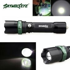Compact Zoom 10000 Lumens 3 Modes CREE XML T6 LED 18650 Flashlight Torch Lamp