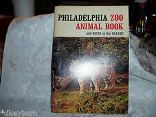 "Vintage  ""PHILADEPHIA ZOO"" 1964 Animal Book, Great Pictures & History of Animals"
