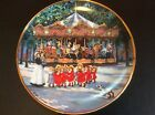 FRANKLIN MINT CAROUSEL HOLIDAY SANDI LEBRON COLLECTOR PLATE