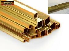 M01311 MOREZMORE 2 Telescopic Brass Square Tubes #9850 #9851 2mm + 3mm K&S A60