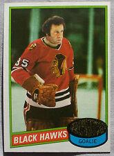 1980-81 Topps Tony Esposito Chicago Black Hawks #150 Hockey Card
