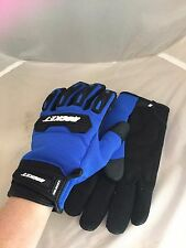 JOE ROCKET MENS VELOCITY 2.0 MESH BLUE MOTORCYCLE GLOVES  XL TOUCH FINGER