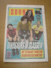 SOUNDS 1990 AUGUST 11 DINOSAUR JR TEENAGE FANCLUB ANTHRAX THAT PETROL EMOTION