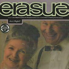 """ERASURE Am i right?-Carry on clangers-Let it flow -Waiting sex """" 7"""" EP UK PRESS"""