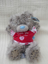 Valentine Me to You Tatty teddy bear wearing t-shirt 'I Love You this Much'
