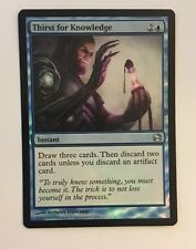 Magic the Gathering - FOIL Thirst for Knowledge x 1 MTG Modern Masters