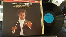 LDR 10004 London Digital LP Mehta conducts Mahler No. 4 Israel Phil NM/NM