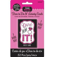 HEN Night Party / Bridal Shower Drinking Party Dare Game Take Out Playing cards