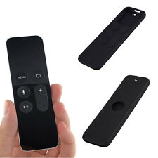 Black Silicone Case Cover Skin Shell For 4th Gen Apple TV Siri Remote Control