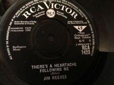 JIM REEVES . THERE'S A HEARTACHE FOLLOWING ME . 1964 classic MINT