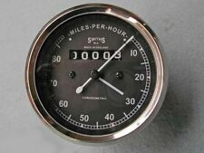 SMITH REPLICA SPEEDO 0-80 MPH FOR ROYAL ENFIELD MOTORCYCLES BULLET
