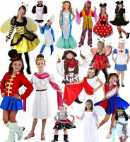 KIDS GIRLS WORLD BOOK DAY BOOK WEEK FANCY DRESS CHARACTER COSTUME OUTFIT 4-12