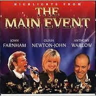 John Farnham ONJ Anthony Warlow Highlights from The Main Event CD Album VGC
