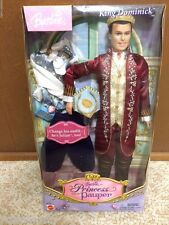 Barbie The Princess And The Pauper Transform King Dominick Tutor Julian Ken Doll