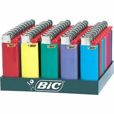 New 11 MINI-BIC Disposable Lighter Assorted Colors, Fast Shipping, New