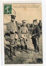 China 1908 Imperial Army Officer at French Military Show Post Card VERY RARE