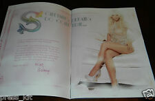 Britney Spears Show Program & Poster Las Vegas Strip BRAND NEW Book Photo Style