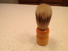 Vintage Barber Shaving Brush Stag Men's Badger Hair Sterilized  Very Nice