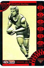 2013 AFL Teamcoach Star Wild Michael Hurley Essendon Team Coach Wildcard SW 05