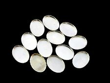 .925 Sterling Silver serated 13x18mm oval Bezel cups jewelry findings parcel
