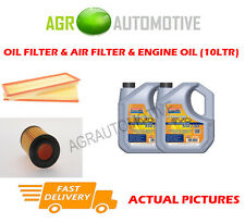 PETROL OIL AIR FILTER + LL 5W30 OIL FOR MERCEDES-BENZ C240 2.6 170 BHP 2002-05