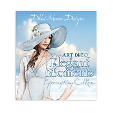 Debbi Moore Art Deco Elegant Moments Papercrafting CD Rom x 1 (322435)