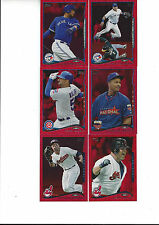 2014 Topps Update Red Hot Foil Jason Giambi Cleveland Indians #US 38