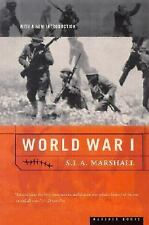 World War I, Marshall, S. L. A., Acceptable Book